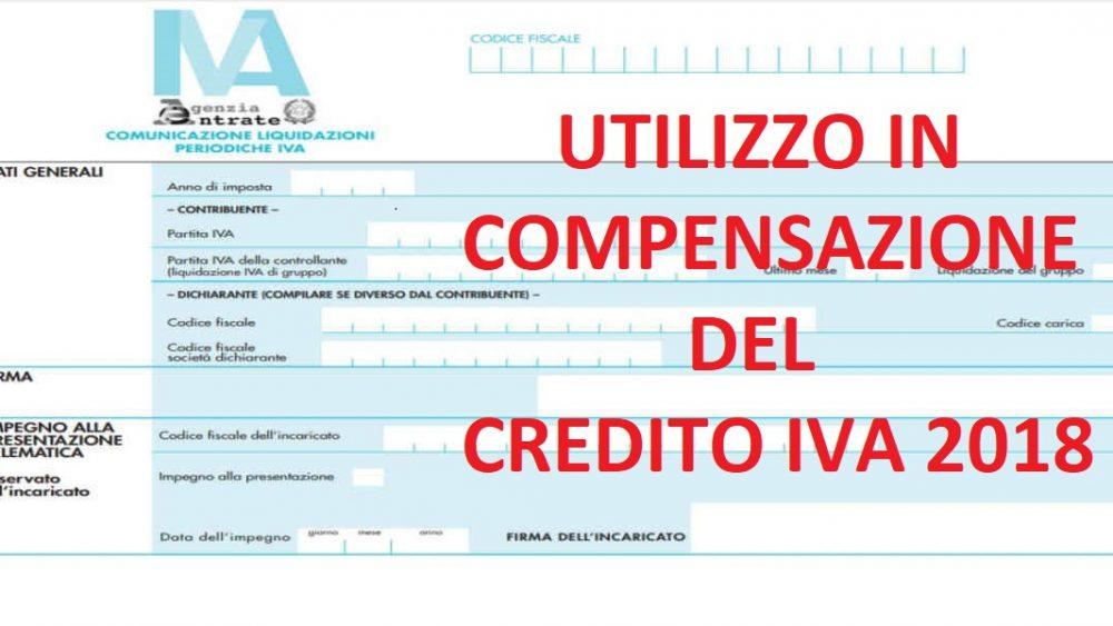 Utilizzo in compensazione del credito Iva