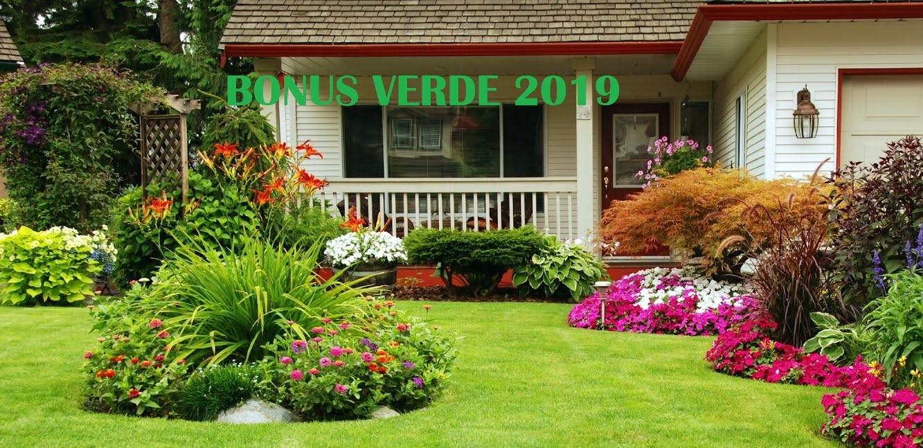 Legge Bonus Verde 2018 bonus verde 2019 - matteo ranieri commercialista