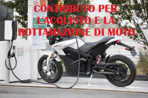 CONTRIBUTO PER L'ACQUISTO E LA ROTTAMAZIONE DI MOTO