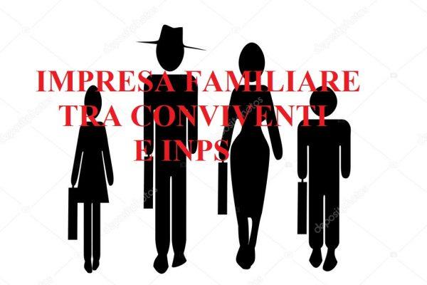 IMPRESA FAMILIARE TRA CONVIVENTI
